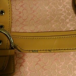 Coach Other - Coach handbag pink and light leather